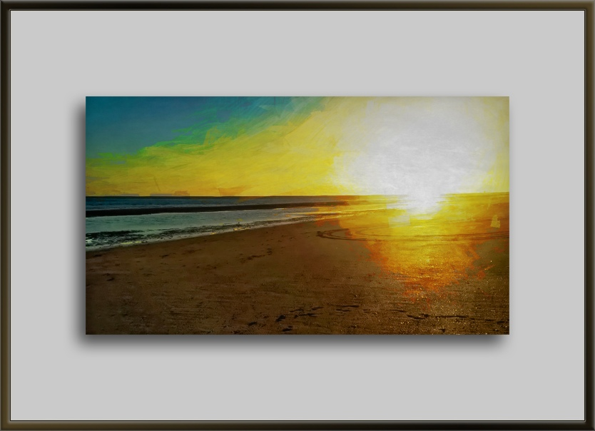 Sunset On The Beach-art-72-2