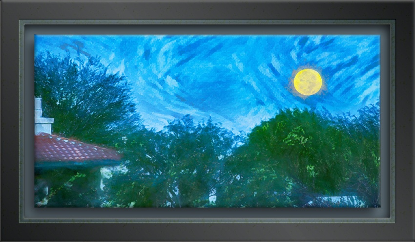 Moonset View From Patio-art-1-72