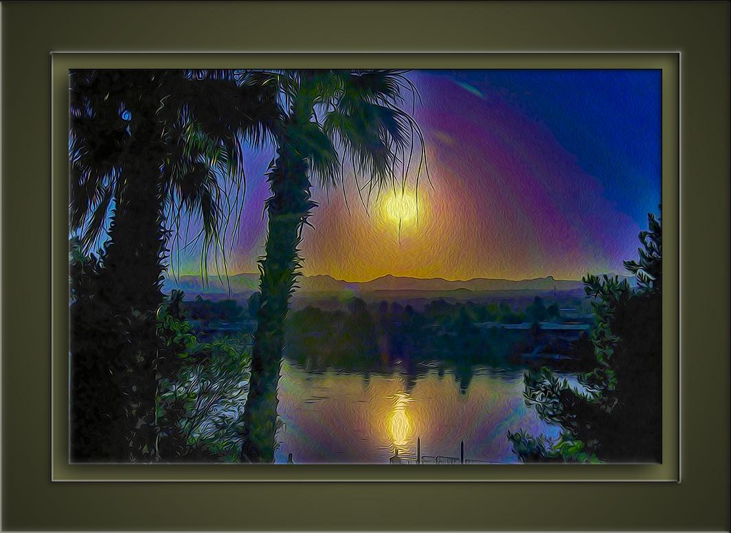 Colorado River Sunset-art-72