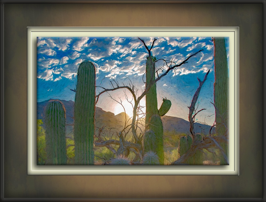 Sunrise In The Canyon-art-72