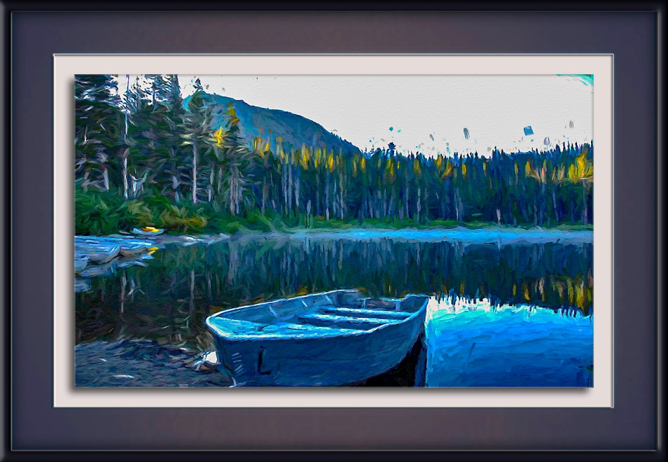 Boat On Lake-Edit-1-art-72