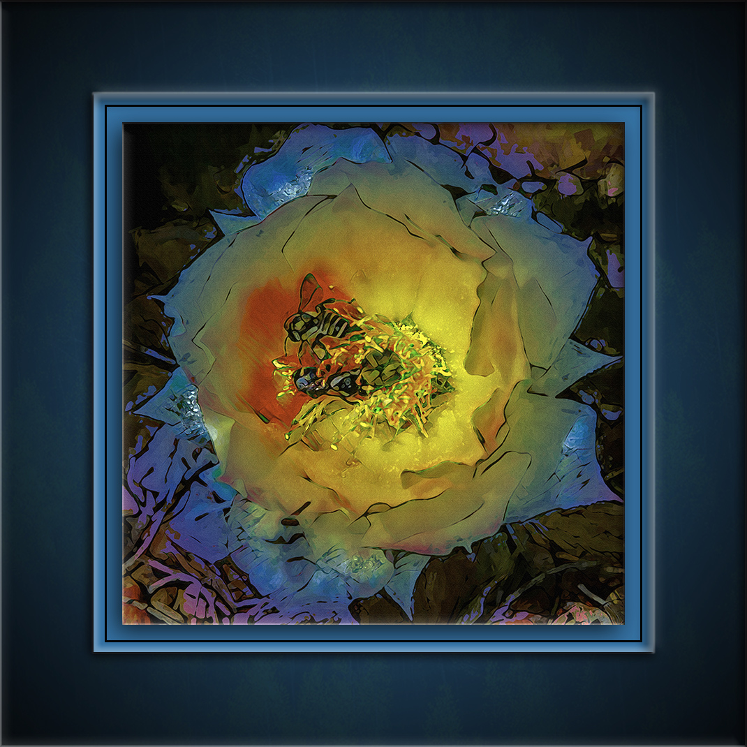 Prickly Flower Blossom-art-72-2