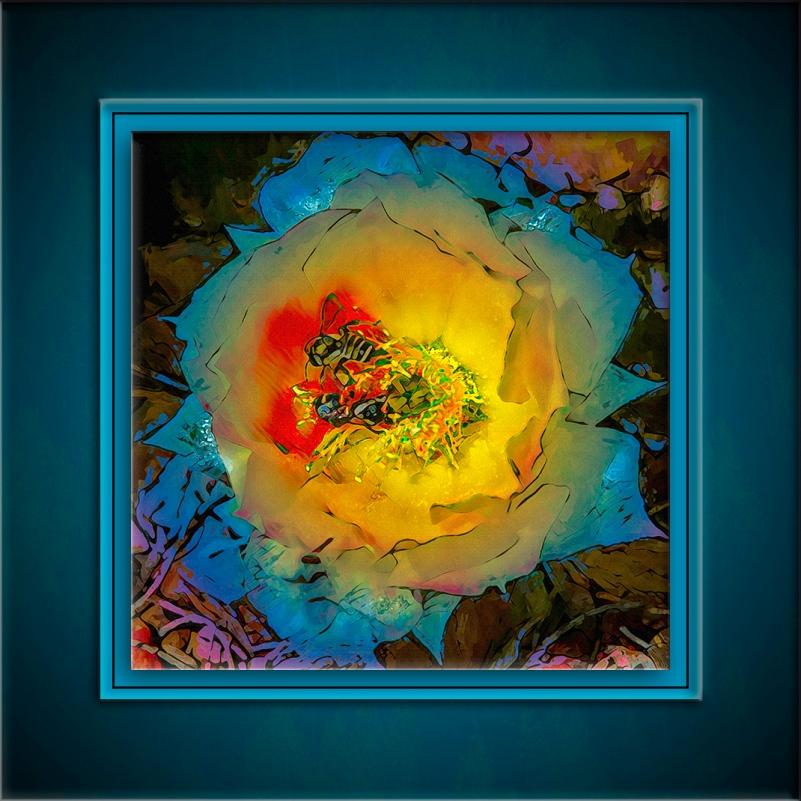 Prickly Flower Blossom-art-72-2