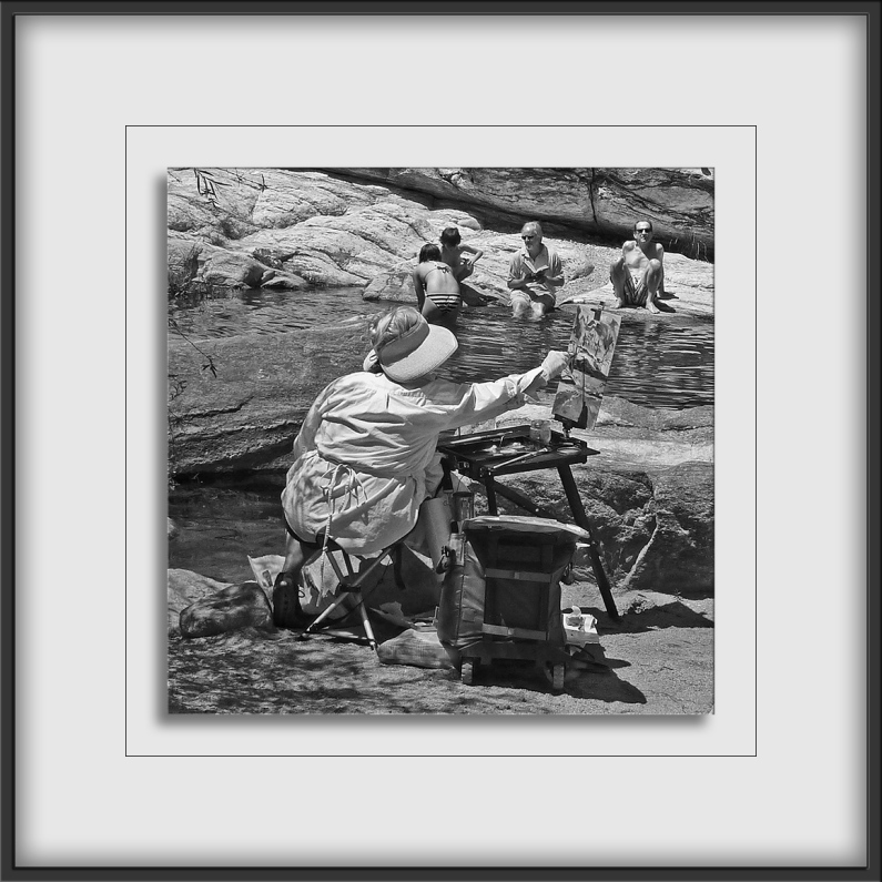 Art In The Canyon-B&W-72