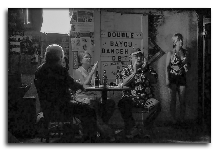 Double Bayou Dance Hall-B&W-2