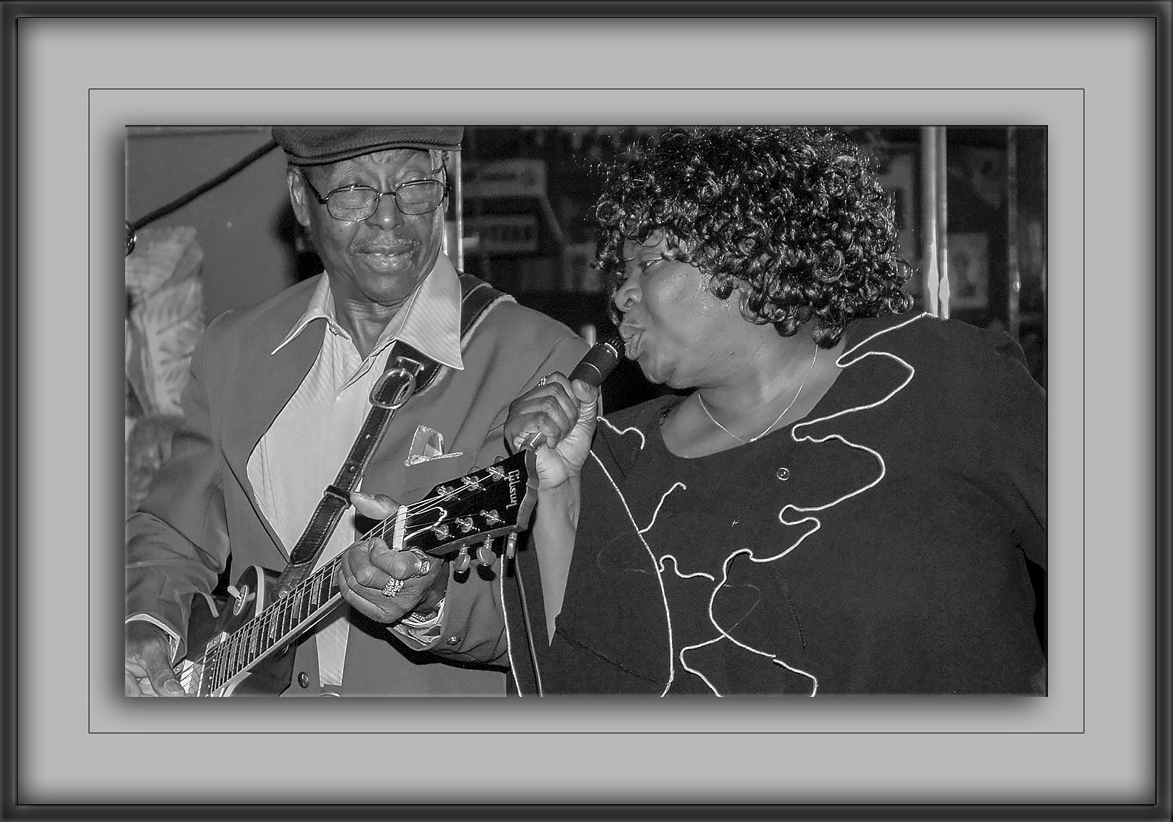Texas Johnny Brown & Diunna-B&W-72