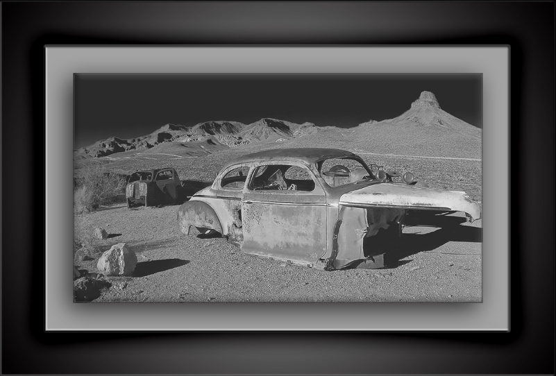 Moonscape- Old Cars