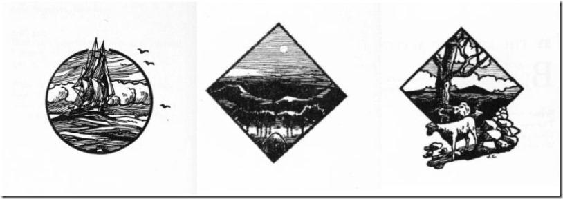 Sail Moon Sheep art by Joseph Campbell